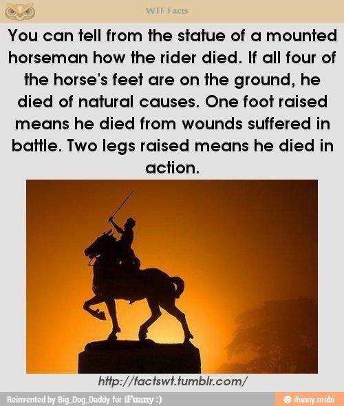 The meaning of Statues