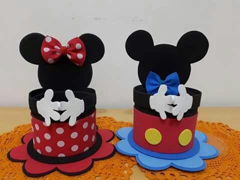 Dulcero minie y Mickey