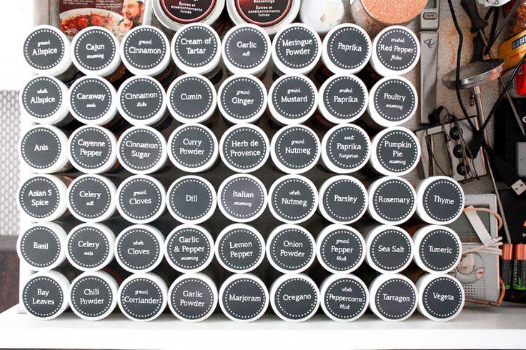 spice jar labels                                                                                                                                                                                 More