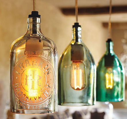 country pendant lighting. Vintage Seltzer Bottle Pendant Lights - Lighting Home \u0026 Garden NapaStyle Country D