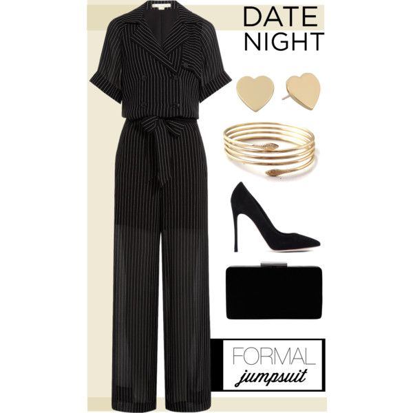 A Fashion Look From November 2015 Featuring Alexander Wang Jumpsuits Gianvito Rossi Pumps And