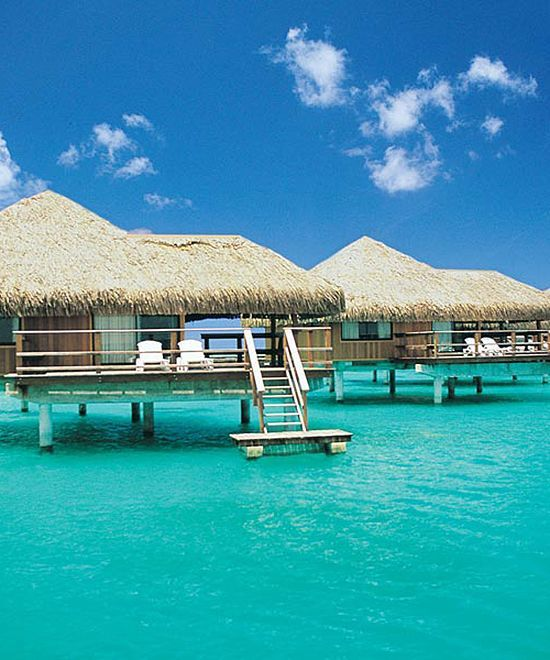 5 sexy cheap overwater bungalows for your next trip for Cheap tropical places to vacation