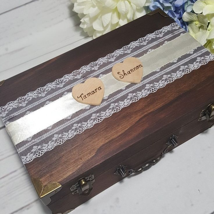 Personalized Wedding cards box