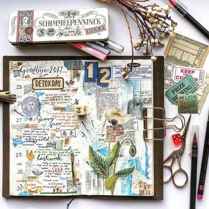 Traveler's Notebook - journal, planner - The last week of December