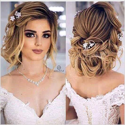 Low Chignon is really a smooth bridal hair messy bun which appears incredibly lovely on bridesmaid too. #weddinghairstyles #coolhairstyles #easyhairst...