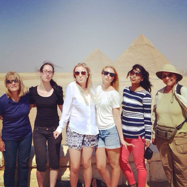 Thankyou Gadventures for the most amazing travel family for 8 days in Egypt! Miss them all