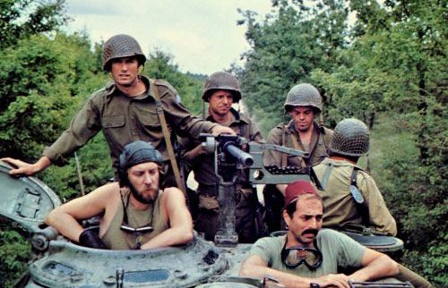 Kelly's Heroes (1970) Clint Eastwood, Donald Sutherland, Telly Savalas, Harry Dean Stanton.