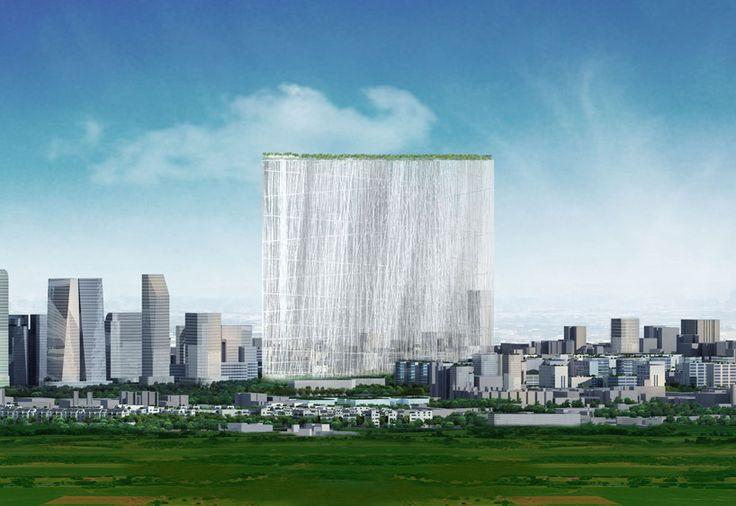 藤本壮介が建てる台湾タワー「21世紀のオアシス」 « WIRED.jp 世界最強の「テクノ」ジャーナリズム