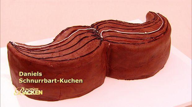 Schnurrbart-Kuchen - Das große Backen - Sat.1