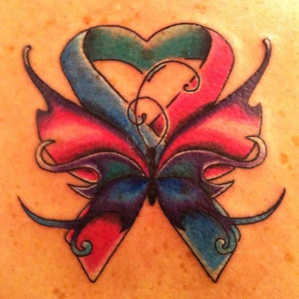 My Thyroid Cancer Survivor Tattoo :)