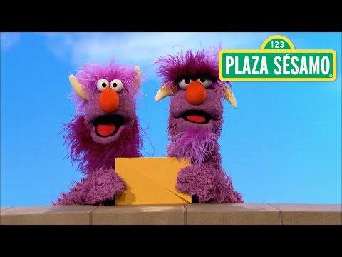 Plaza Sésamo: El monstruo de dos cabezas y el rectángulo - YouTube... Great videos for Spanish immersion