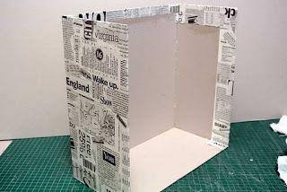 Cartonnage Creativo by Ada: Proyecto: Joyero con cajones (Parte I)