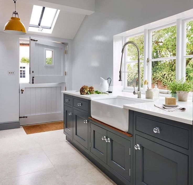 Love everything about this kitchen from Country Homes Magazine