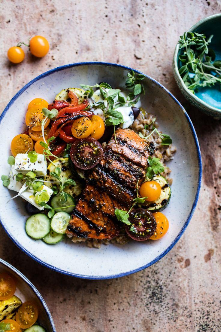 Salmon Souvlaki Bowls   halfbakedharvest.com @hbharvest