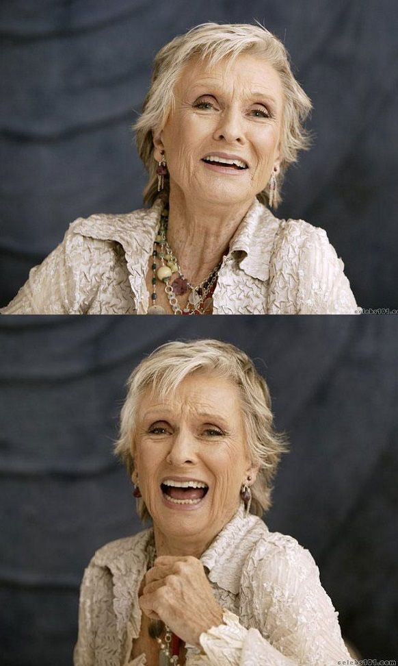 Cloris Leachman, 87 years old. Born & raised in Des Moines Iowa. Acted on the Des Moines Playhouse stage