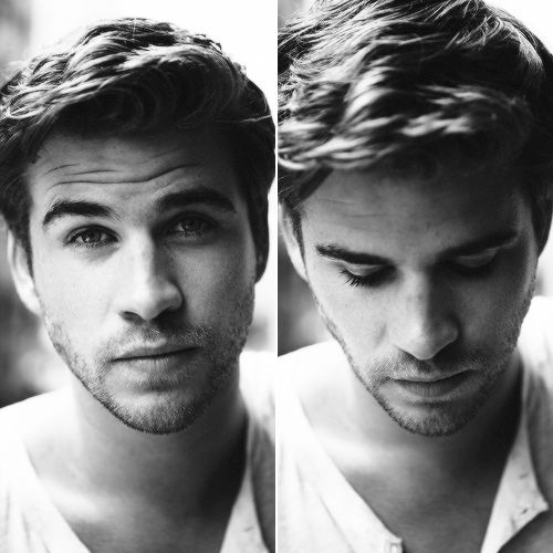 Liam Hemsworth ( ** coughs ** holy crap how can someone be so hot? )