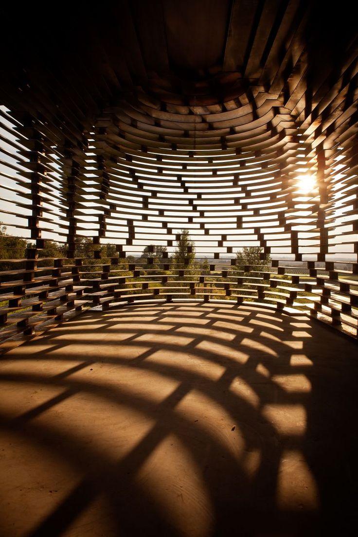 See-through church, Limburg/Belgium by Gijs Van Vaerenbergh