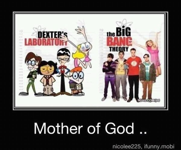 Could the cartoon Dexter's Laboratory have been the inspiration for The Big