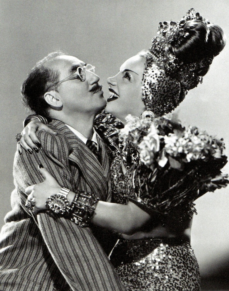 Groucho Marx & Carmen Miranda