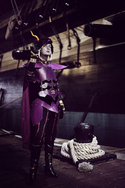 Dualscar - Homestuck Ancestors (otakon 2011), via Flickr. // ok this is the BEST cosplay I have ever seen. Holy shit