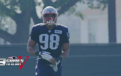 In this preview of 3 Games to Glory 5, see how hard work pays off for Trey Flowers. 3 Games to Glory 5 is a must have for any hard core fan of the New England Patriots. This video is the definitive collection of postseason highlights and exclusive content from the Patriots historic run to winning Super Bowl LI, and their 5th World Championship. Available May 2 and for pre-order now at proshop.patriots.com.