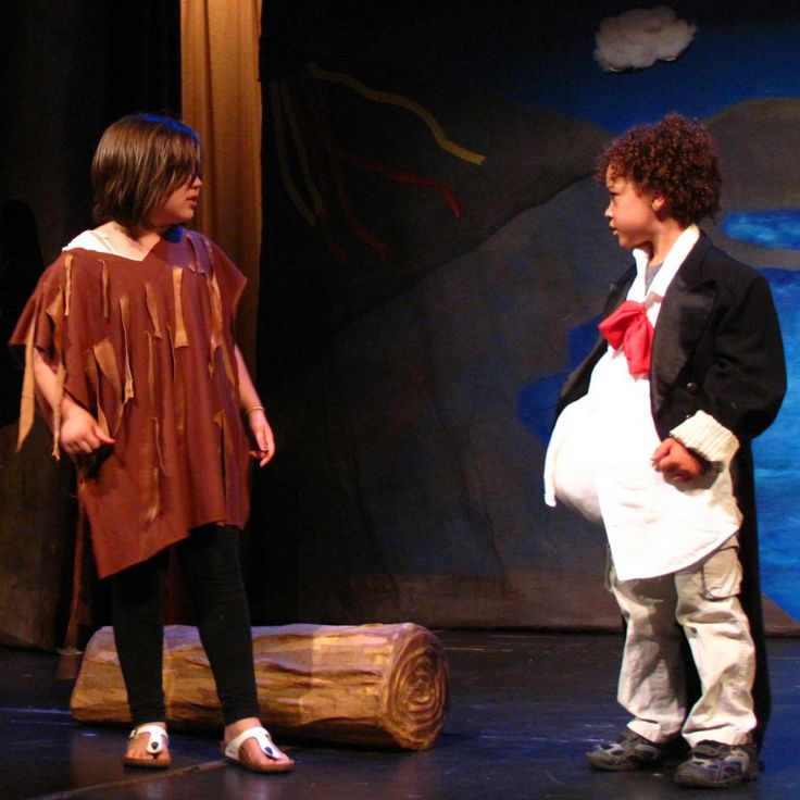 "In rehearsal, #Caliban (left) shares his story with #Stephano ""I say by sorcery he got this isle."" -Summer Camp 2013 #TheTempest #Shakespeare #Kids #SummerCamp #Camp #Acting Camp #DramaCamp #Toronto #Kids #Children #Youth #Education"