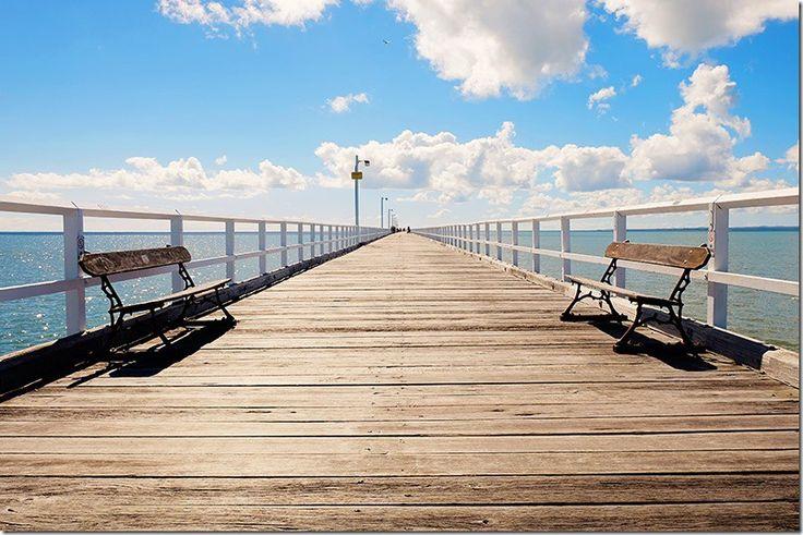 Urangan Pier, Hervey Bay. Read more on wanderluststorytellers.com.au