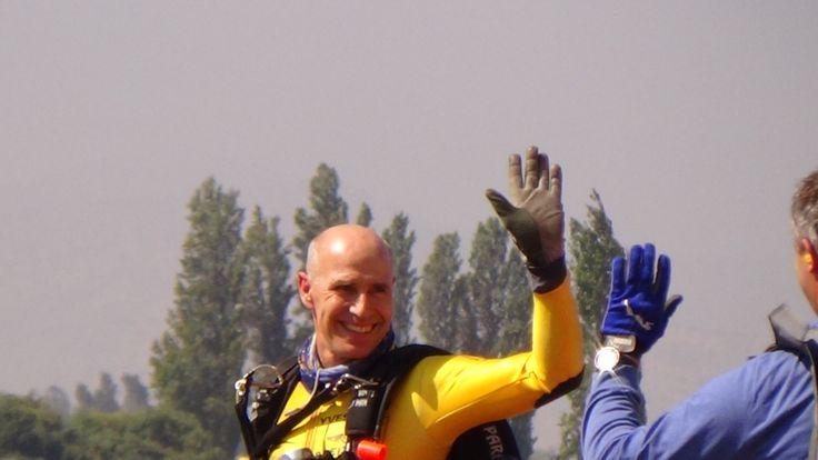 Yves Rossy Jetman on FIDAE 2014