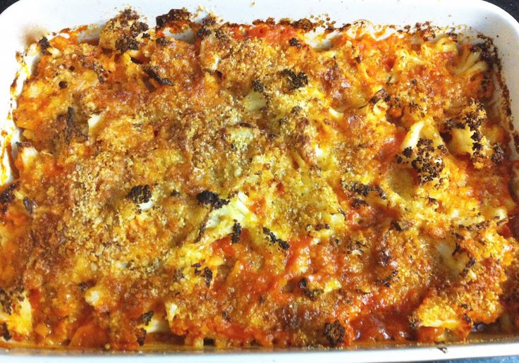 Use gluten free bread crumbs and you have a winning dish here. Cauliflower and Tomato Gratin. Check out our video below!