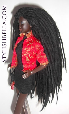 barbie! always wanted dreads but could never do it...love Barbie and love this beauty