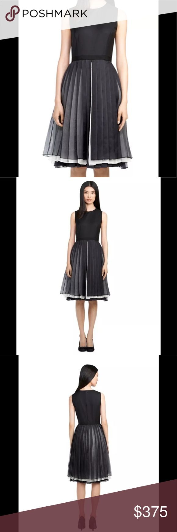 Brooks Brothers BF Cocktail Silk Dress NWT Medium Brooks Brothers Black Fleece Silk Dress Sz 6-8 Medium BB3 NWT 🌻Brand New Condition with tags. Black Fleece Cocktail dress by Thom Browne. Split front with contrasting layers of pleated silk, over straight wool shift. Body: 100% Wool, Skirt layers: 100% Silk, full Bemberg lining. Black grosgrain at waistband on top layer. Hidden center back zipper. Stunning! Dry clean. Imported. Item# AX00156 originally $1750 » I only sell new items! Brooks…