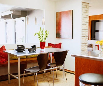 Space Savvy Breakfast Room Banquettes Eat In KitchenKitchen Dining