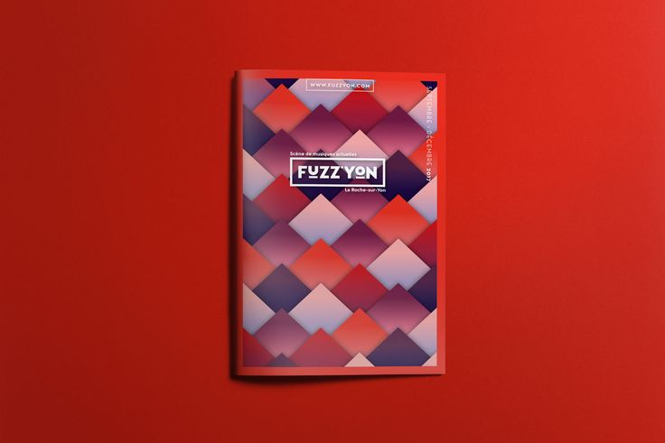 Fuzz'Yon - NAVYY - 2018 | Navyy - brochure - illustration - graphicdesign musique brand logo