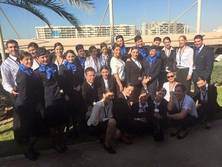 From @airserbia.cabin.crew Repost: @kija_kockar #airserbia#etihadairways#stewardesses#and#stewards#cabincrew#crewlife#aviation #crewiser