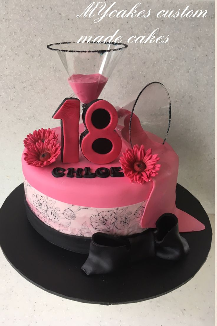 18 th birthday cake