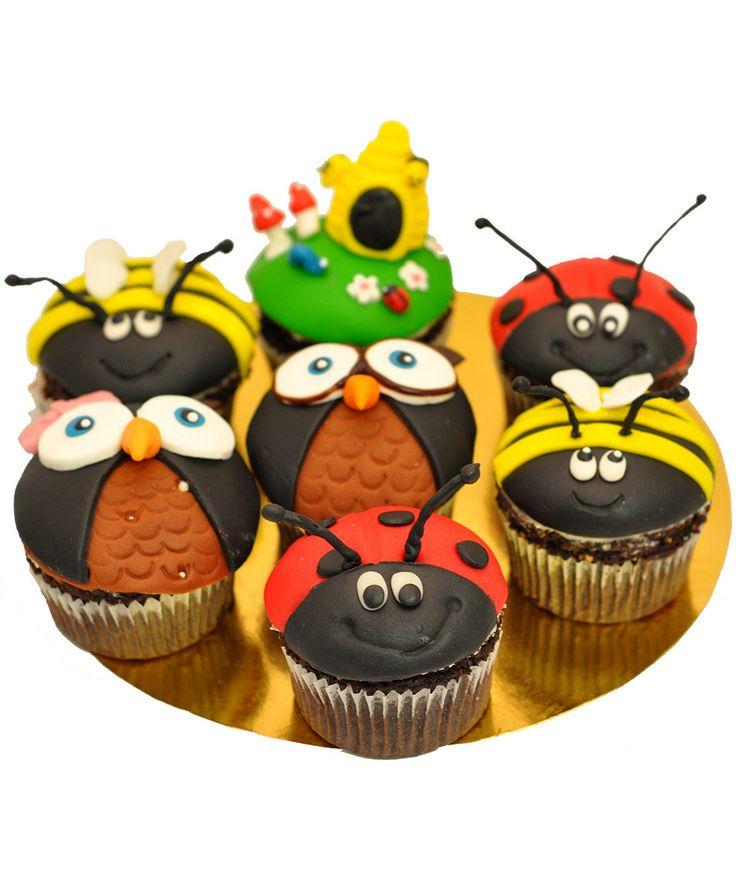 Cupcake LadyBugs