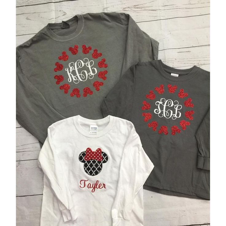 Minnie Mouse Personalized Birthday Shirt-minnie mouse, birthday, age,  photos, personalized