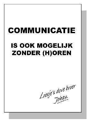 Deze quote past perfect binnen de les COO. Non-verbale communicatie is bijna even belangrijk als de verbale communicatie.