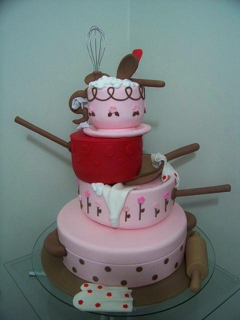 Kitchen Utensils Cake