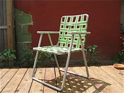 Lawn chair.