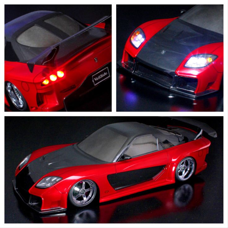 Rc Drifting Mazda Veilside Fortune Body Rc Drifting