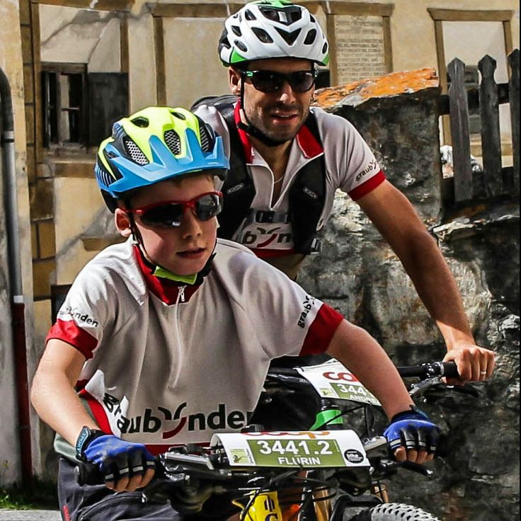 my guys racing the national bike park marathon together in the category big and small. ..
