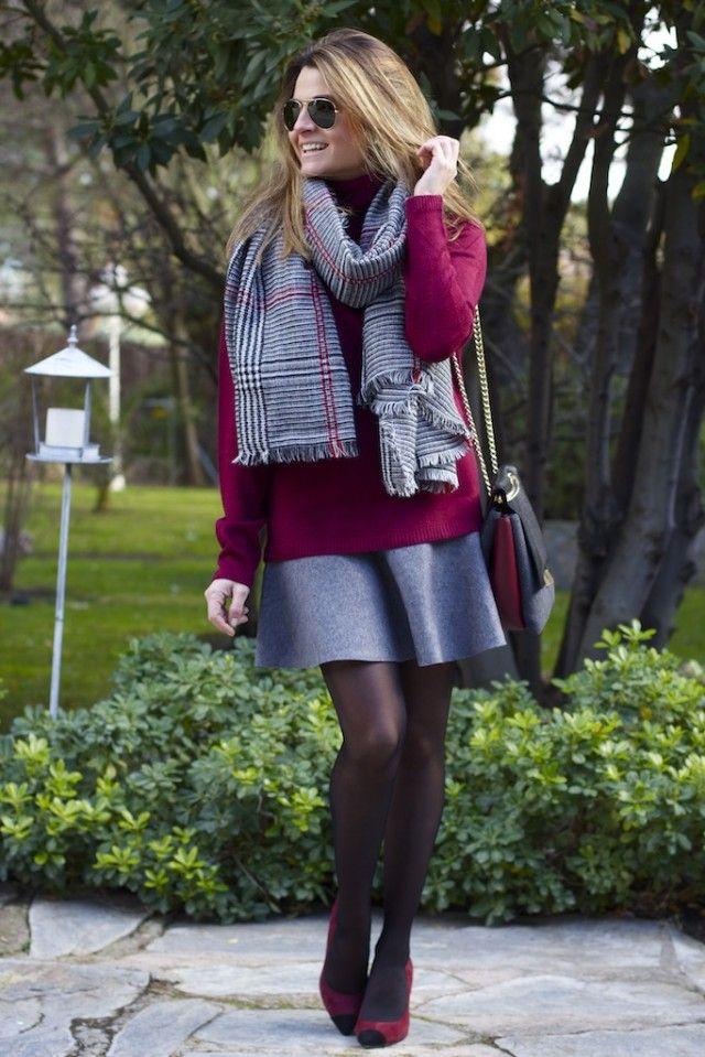Minifalda Zara y Bolso Purificación Garcia. Blog de Moda. Oh My Looks ( 6 )