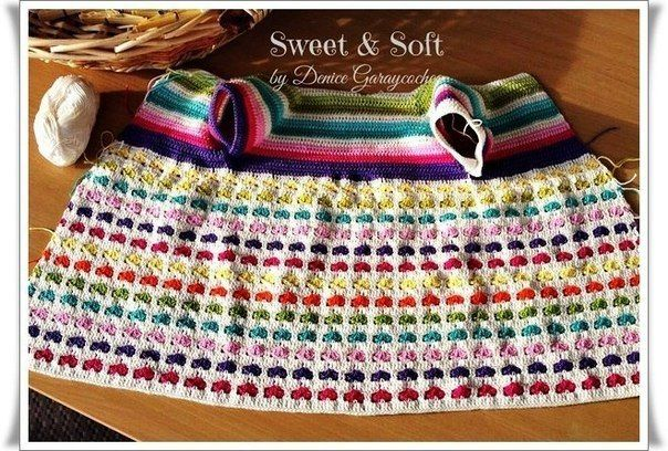 Delicadezas en crochet Gabriela: Campera tejida para niñas paso a paso