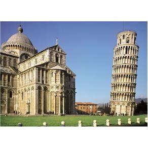 Quebra-cabeça Grow Torre de Pisa 1000 peças - 2581 - Quebra-cabeça Infantil no Extra.com.br