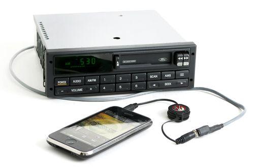Ford Contour & Mercury Mystique 1998 Radio AM FM Cassette w Aux 97BP-19B132-AB