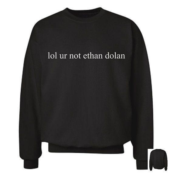 Ce Sweat-shirt crewneck épais est spécialement conçu pour le fandom Dolan, avec nouvelle et une meilleure qualité !  SIL VOUS PLAÎT SIL VOUS PLAÎT SIL VOUS PLAÎT VÉRIFIER LE DIAGRAMME DE TAILLE AVANT DE COMMANDER