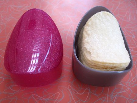 Pringles Case. ~OMG I forgot about these. I thought I was SO cool. This was like having an iPhone for the first time lol