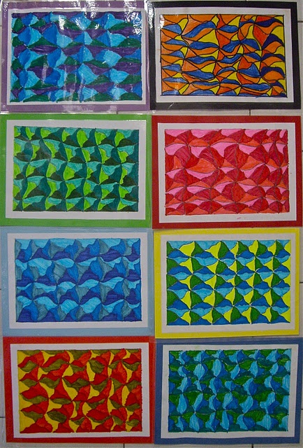 op art........4th grade