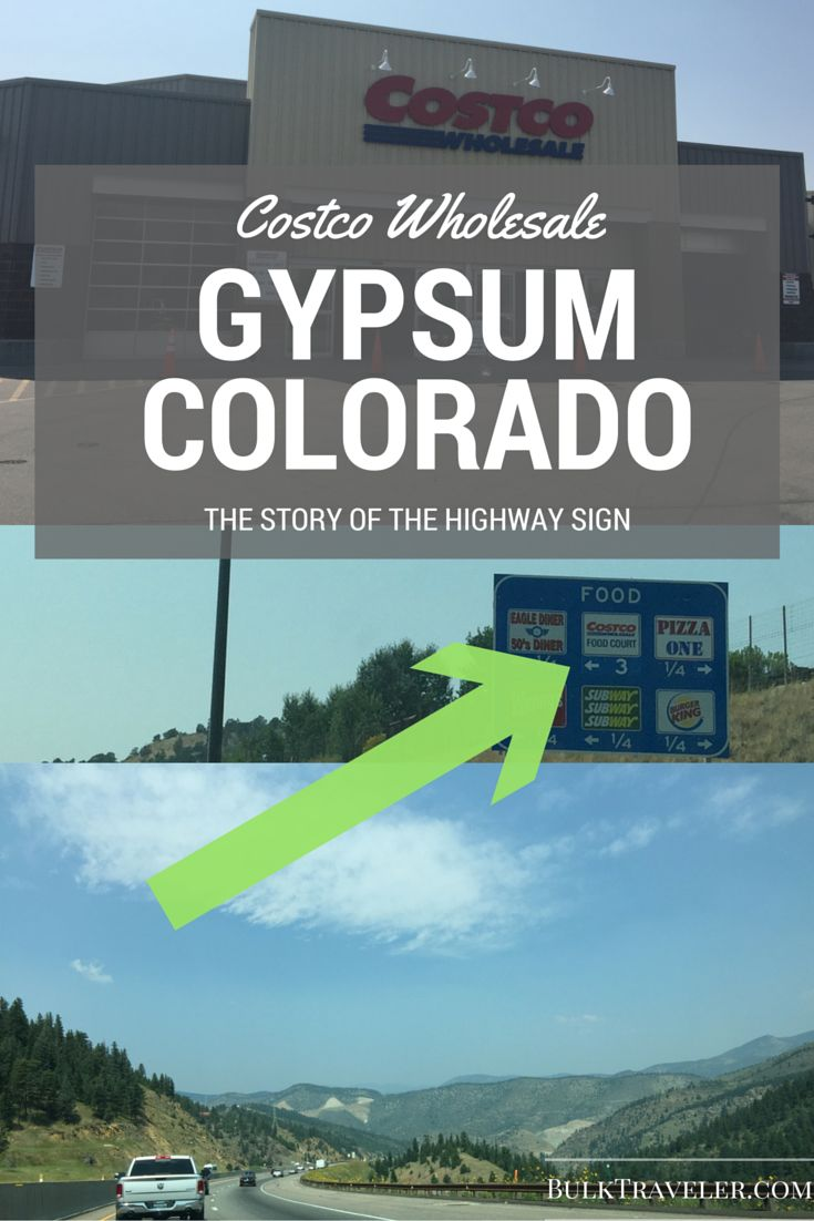 I travel the world to find the most unique Costco locations. I found my first location that advertises its food court from the highway. Today we take a trip to Costco Gypsum Colorado.